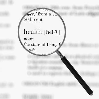 Health dictionary definition
