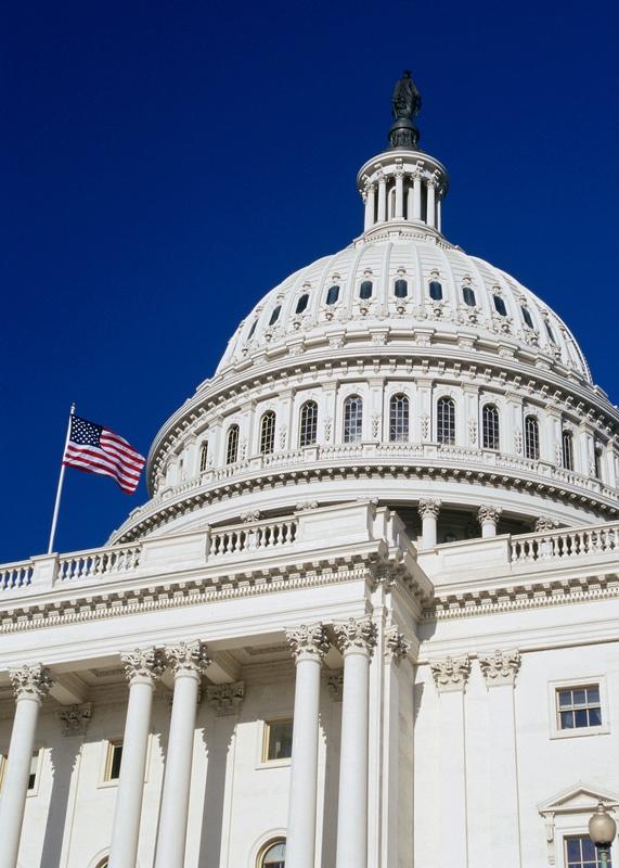 Capitol Hill_deep blue sky