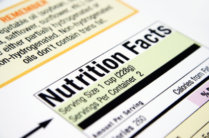 nutrient facts