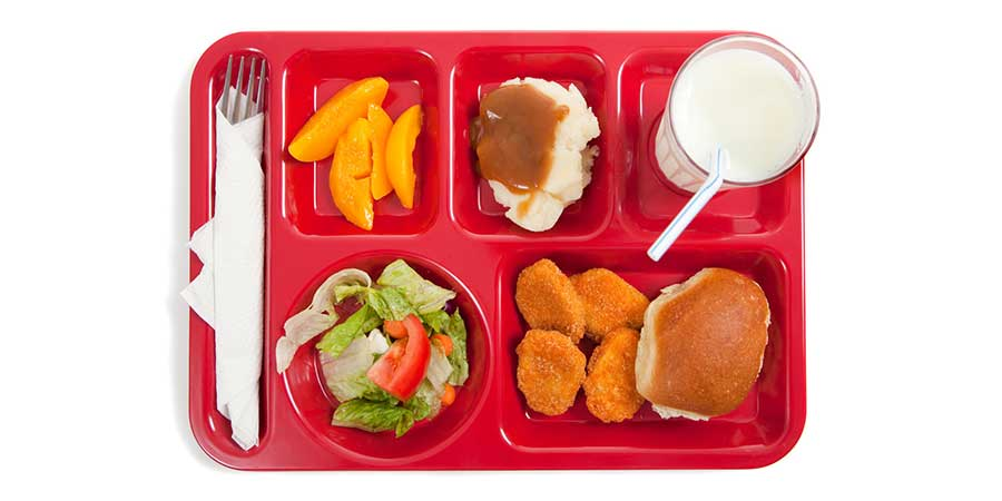 Big Food Once Again Tries to Muscle in on Kids' School Lunch Trays