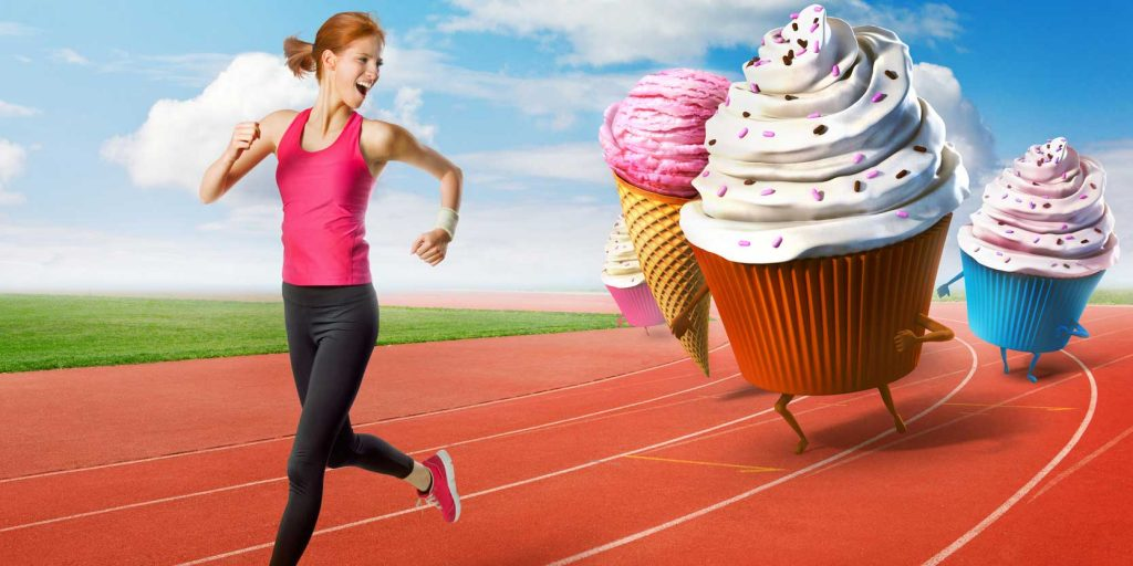 Kids, Eat All the Junk Food You Like—  Just Go Jogging for Three or Four Hours Every Day!