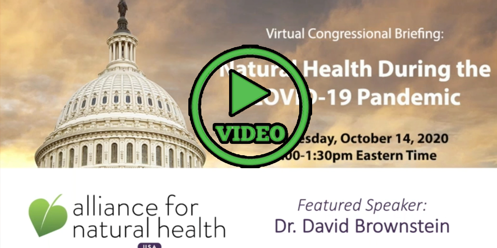 Congressional Briefing: Natural Health During the COVID-19 Pandemic