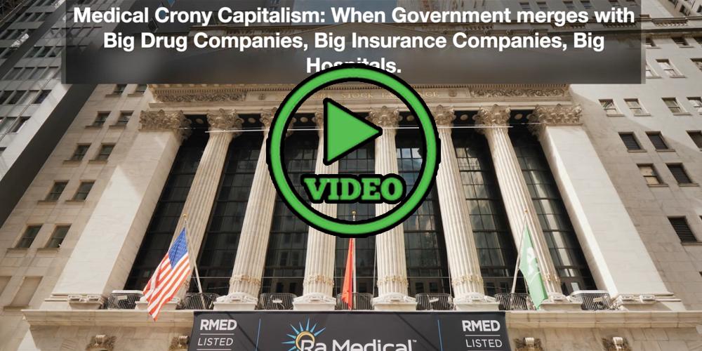 Medical Cronyism- Killing American Healthcare